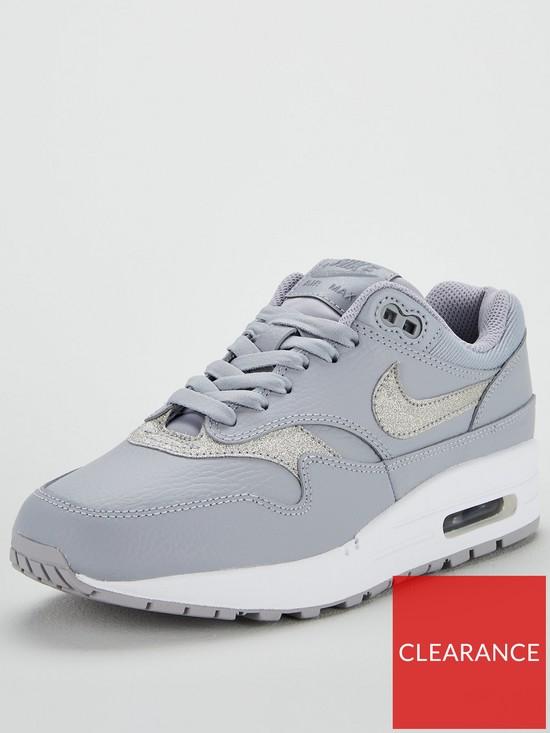 Nike Air Max 1 SE - Grey Glitter  ff7bb6c925