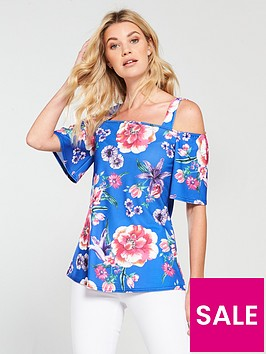 v-by-very-printed-jersey-crepe-top-blue-print