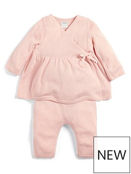 mamas-papas-baby-girls-knitted-outfit