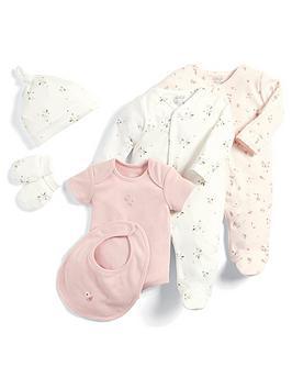 mamas-papas-baby-girls-6-piece-floral-set