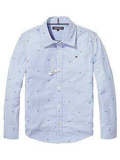 tommy-hilfiger-boys-oxford-stripe-print-shirt