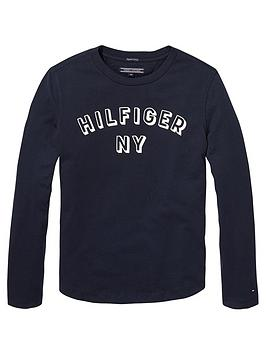 tommy-hilfiger-boys-long-sleeve-logo-t-shirt-navy