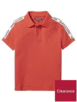 tommy-hilfiger-boys-short-sleeve-retro-polo-shirt-red