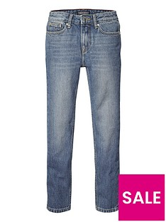 tommy-hilfiger-girls-high-waisted-slim-jeans-denim-blue