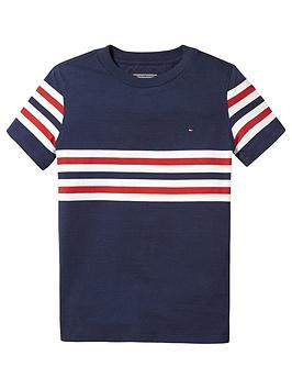 tommy-hilfiger-boys-short-sleeve-stripe-t-shirt-navy