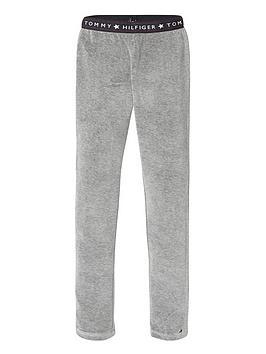 tommy-hilfiger-girls-velour-leggings-grey-heather