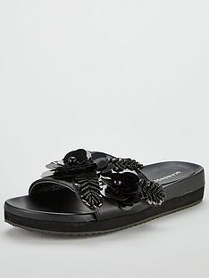 glamorous-floral-slider-black