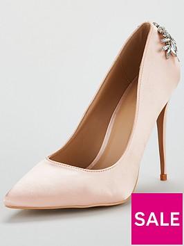 glamorous-jewelled-heeled-court-shoe-light-pink