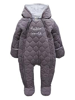 mamas-papas-baby-quilted-pramsuit