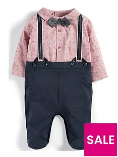 mamas-papas-baby-boys-pink-mock-braces-all-in-one