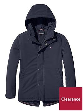 tommy-hilfiger-boys-coated-hooded-parka-navy