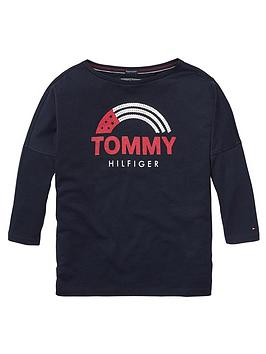 tommy-hilfiger-girls-sequin-flag-t-shirt