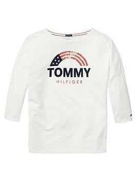tommy-hilfiger-girls-sequin-flag-t-shirt-white