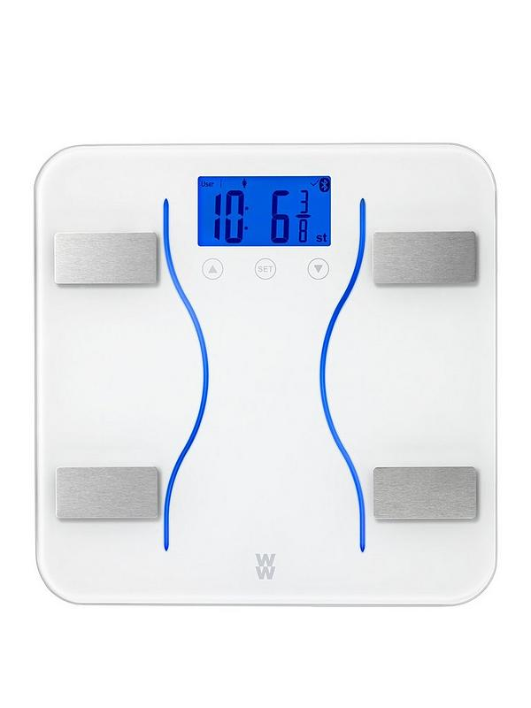 Weight Watchers Bluetooth Analyser Bathroom Scales Very Co Uk