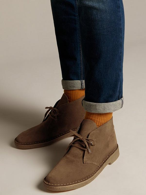 da0344cbde9 Originals Suede Desert Boot - Cola Brown