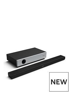Sharp Sharp HT-SBW160 360W 2.1 Ultra Slim Soundbar with Compact Wireless Subwoofer, Bluetooth & HDMI (ARC/CEC) - Black