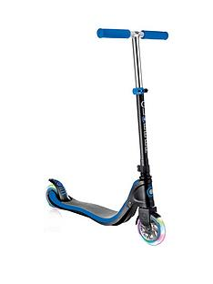 GLOBBER Globber Flow 125 Lights Scooter - Black/Navy Blue
