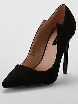 lost-ink-paris-angled-court-shoe-black