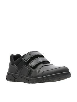 clarks-blake-street-junior-shoes-black