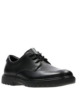 clarks-asher-grove-junior-shoes-black