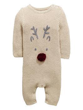 mini-v-by-very-baby-unisex-soft-pom-pom-reindeer-knitted-romper