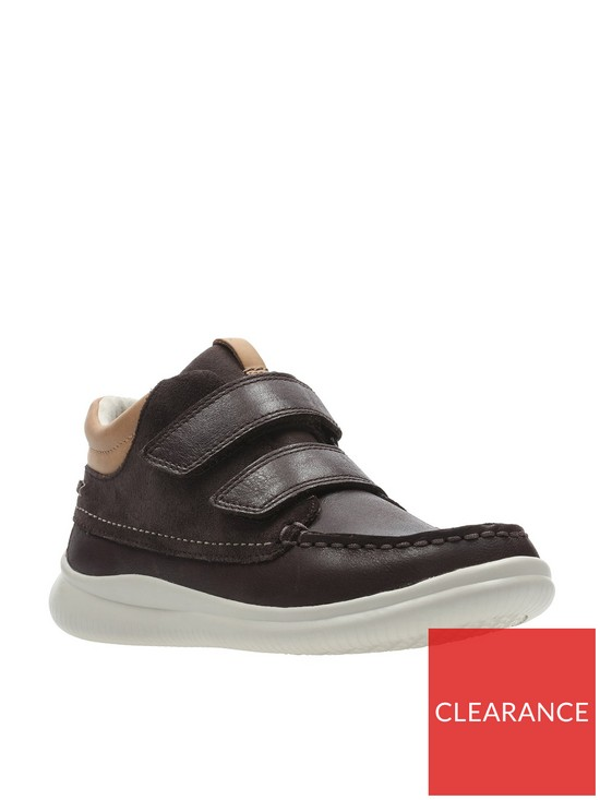 c354bb82522d20 Clarks Cloud Tuktu Infant Boots - Brown