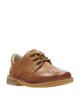 clarks-comet-heath-boys-first-shoes-tan