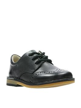 clarks-comet-heath-boys-first-shoes-black