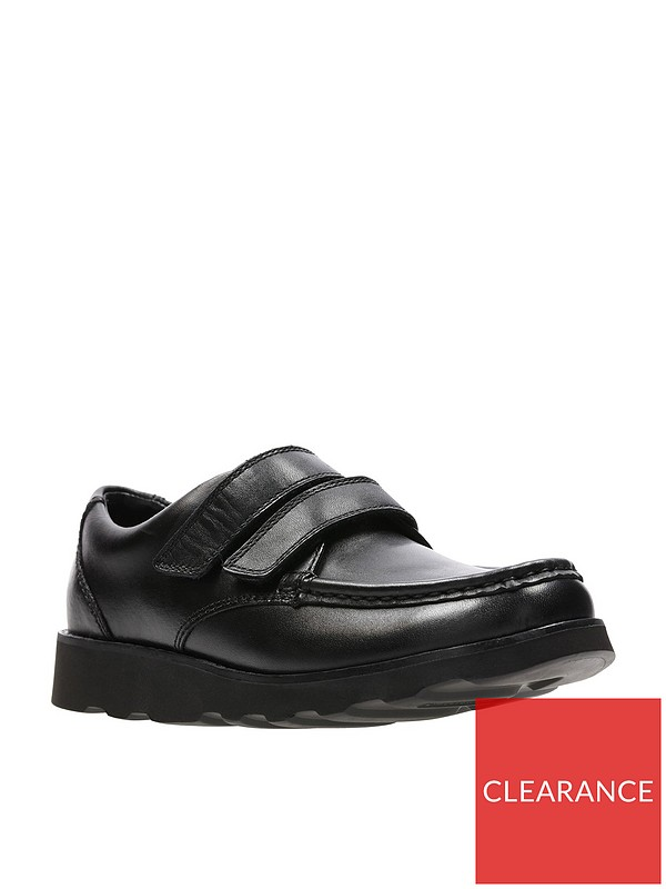 beauty quite nice great prices Crown Tate School Shoes - Black