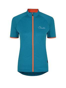 Dare 2B Ladies Cachet Cycle Jersey - Sea Breeze