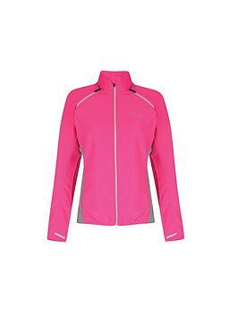 Dare 2B Ladies Unveil Ii Windshell Cycle Jacket - Pink