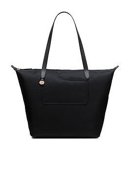 radley-pocket-essentials-large-zip-top-tote-crossbody-bag-black