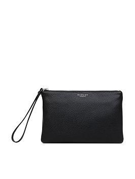 Radley Bowhill Small Clutch Ziptop Bag - Black