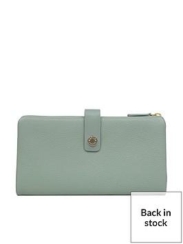 radley-larks-wood-large-folded-matinee-purse-green