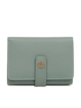 radley-larks-wood-small-folded-purse-green