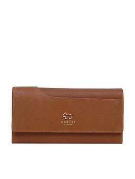 radley-pockets-large-flapover-matinee-purse-tan