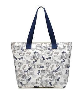Radley Data Dog Large Ziptop Tote Bag