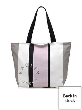 radley-stripe-large-ziptop-tote-bag