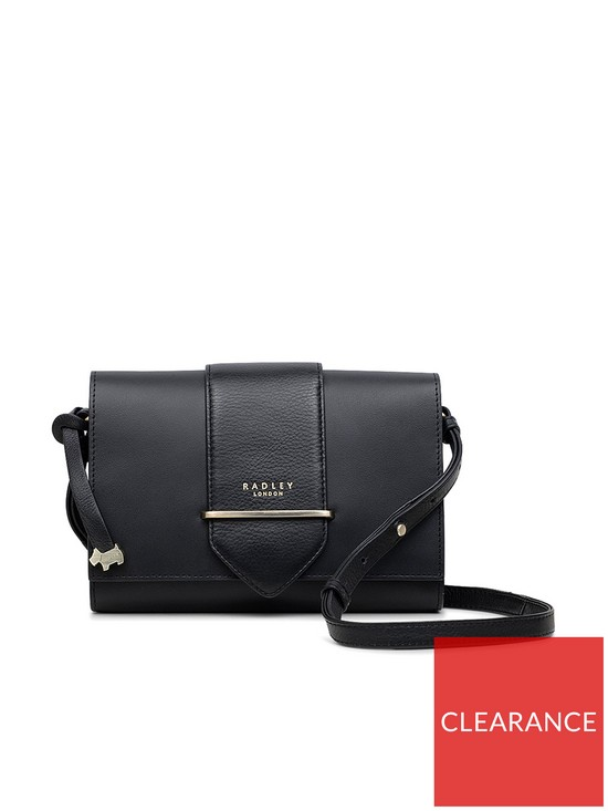 b8d0a4688d17 Radley Palace Street Small Crossbody Flapover Bag - Black