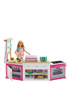 barbie-ultimate-kitchen-with-doll