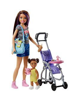 Compare prices for Barbie Skipper Babysitter Stroller Playset