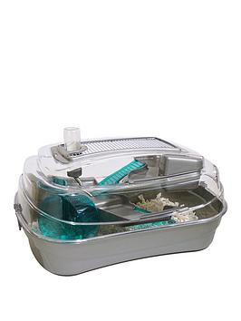 rosewood-abode-hamster-and-mouse-home-stunning-silver