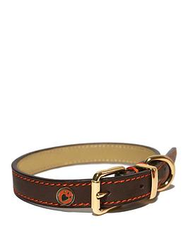rosewood-leather-collar-brown-22-26-inch-x-1-amp-12-inch