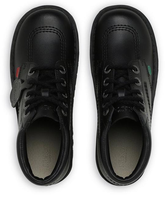6297b38652c11 Kickers Kick Hi Core Ankle Boots - Black | very.co.uk