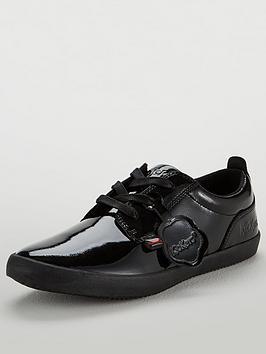 Kickers Kariko Lace-Up Shoe - Black