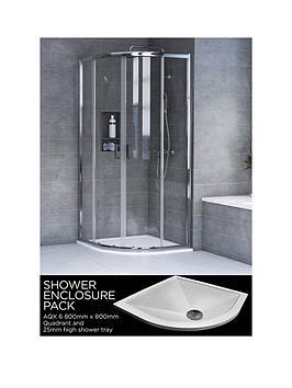aqualux-aqx-6-quadrant-shower-enclosure-and-aqua-25-tray-bundle-kit