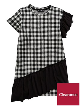 mini-v-by-very-girls-gingham-ruffle-shift-dress