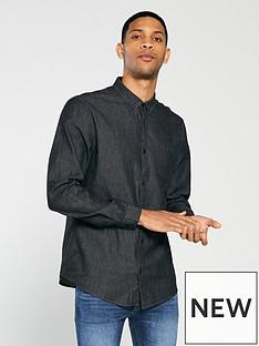 v-by-very-long-sleeved-grey-denim-shirt