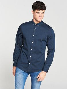 v-by-very-long-sleeved-stretch-denim-shirt
