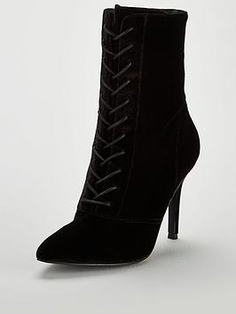 v-by-very-fifi-point-high-heel-lace-up-boot-black